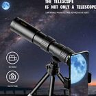 4K 10-300X40mm Super Telephoto Zoom Monocular Night Telescope Tripod & Clip