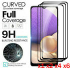For Samsung Galaxy A12 A32 A52 A71 A51 A21S Full Tempered Glass Screen Protector