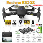 Eachine E520S RC Drone Quadcopter GPS WIFI FPV Foldable With 4K-1080P HD