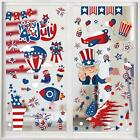 4th of July Window Cling,Patriotic Window Sticker USA Independence Day Decal