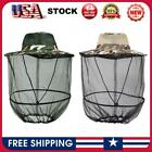 Insect Mesh Cap Midge Hat Head Face Protector for Outdoor Fishing #SF