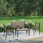 Garden Furniture Set 4 Seater And Table