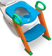 Potty Training Seat with Ladder Toilet Step Stool for Kids With Splashguard