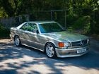 1988 MERCEDES 420 SEC W126 COUPE 2 DOOR GOLD AMG 500 560 BARN FIND PROJECT