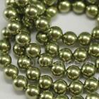 Swarovski Crystal Pearl 5mm 5810 Round Ball Light Green