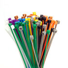 Coloured Miniature Cable Ties 100 x 2.5 UL ROHS Pkt 100