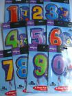 """18"""" JR.SHAPE Foil Balloons {ALL NUMBERS/AGES/0-9}"""