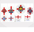 FOOTBALL CAR ACCESSORIES(Club/Country)Air Freshener/Tax Disc Holder/Flag/Sticker