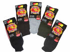 5 Pairs HEAT SOCKS,brushed inside to lock heat in