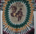 "BOB DYLAN ""DEAL TOUR"" 2-SIDED TIE DYE T-SHIRT NEW"