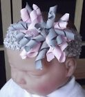 BABY GIRL BOUTIQUE KORKER BOW HEADBAND VARIOUS COLOURS
