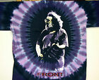 "GRATEFUL DEAD  JERRY GARCIA ""FRANKLINS TOWER"" 2-SIDED TIE DYE T-SHIRT NEW"
