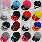 BNWT NEW YORK FITTED FLAT PEAK RETRO SNAPBACK CLASSIC BASEBALL CAP HAT