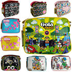 Gola Classics Tado Boys Girls Womens Mens Redford Retro Shoulder Mod Bag