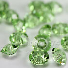 Swarovski Crystal Elements 5305 5mm Spacer Beads - Peridot