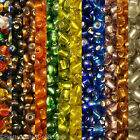 #6/0 - Silver-Lined Glass Seed Beads - 40 grams per Bag - Buy 3 bags get 2 FREE