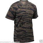 Tiger Stripe Camouflage Vietnam Short Sleeve T-Shirt  FREE SHIPPING