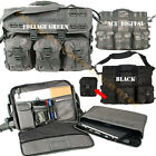 MOLLE Laptop Briefcase Tactical Messenger Bag ACU Camo, Foliage or Black