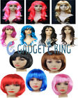 Women's Long Curly Fancy Dress Wigs Straight Cosplay Costume Ladies Wig Party UK