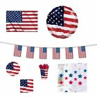 USA (American) FLAGS BANNERS BALLOONS(Partyware/Decorations){fixed £1 UK p&p}