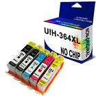 NON-OEM HP 364 XL INK CARTRIDGES REPLACE FOR C5380 C6380 C309a PRINTER
