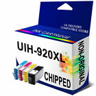 4 920XL OFFICEJET INKJET INK CARTRIDGES FOR OFFICEJET PRINTER WITH CHIP NON-OEM
