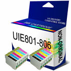 T0801-T0806 T0807 COMPATIBLE INK CARTRIDGES FOR STYLUS PHOTO PRINTER