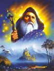 3260 THE GREAT WIZARD CASTLE FINE WALL ART FANTASY METAL WALL SIGN BRAND NEW