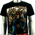 RC Survivor Sz M L XL XXL T-Shirt Tattoo Singer Music Skull Microphone mma C110