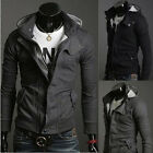 Korean style Men's cool Slim  Hoodie Sweater Male outdoor Coat/Sweatshirt