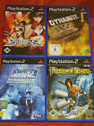 SAMMLUNG PLAYSTATION 2 PS2 SPIELE PRINCE OF PERSIA RUMBLE ROSES  DYNAMITE 100