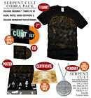 "Evile ""Five Serpent's Teeth"" Cobra Pack - Ltd CD, 7"", Pendant, Signed, Poster"