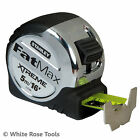 New STANLEY 5m OR 8m FATMAX XTREME TAPE MEASURE 32mm WIDE MYLAR COATED BLADE