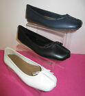 Clarks Ladies - Freckle Ice - D Fitting - Leather Ballerina Style Shoes