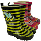 Wellington Boots for Childrens Infants Rain Snow Winter Wellies Size 5-13