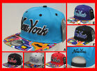 RARE -NEW IN - KB Ethos NY New York Snapback - AZTEC FLAT PEAK Snap Back Cap Hat