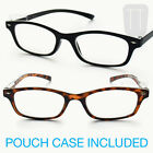 NEW RIMMED WAYFARER READING GLASSES - BLACK / BROWN TORTOISESHELL 1+1.50+2+2.5+3