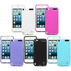 Fosmon Durable Frosted TPU Gel Case Cover Skin for Apple iPod Touch 5th Gen 5G