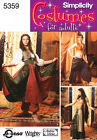 PATTERN SIMPLICITY Belly Dance I Dream of Jeannie sz 6 to 20 Costume 5359