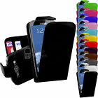 LEATHER FLIP CASE COVER FITS SAMSUNG GALAXY S3 I9300 FREE SCREEN PROTECTOR
