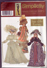 "S 9522/0684 11½"" Doll Collector Club Turn Century New & Uncut or Cut & Complete"