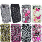 Diamond Crystal Bling Various Designs Case Cover For Samsung Galaxy Ace S5830