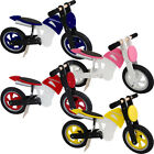 Kiddimoto Scrambler Wooden Balance No Pedal Running Training Walking Bike Cycle