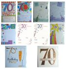 70th BIRTHDAY (Age 70) Party INVITATIONS & Envelopes {Fixed £1 UK p&p}(PI)