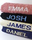 New Embroidered Personalised Bath Towel Set Unique Gift