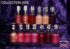COLLECTION 2000 nail polish varnish frosted pink rose purple burgundy red  ST