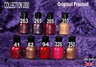 COLLECTION 2000 nail polish varnish ORIGINAL PEARL pink taupe purple red