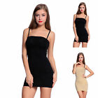 Strapless Body Shaper Wrap Tummy Control Shapewear Slip Tube Dress