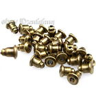 New Wholesale 2 colors Iron Earring Back Stoppers Fit Earrings Findings 6x5x5mm