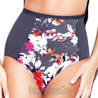 Panache Swimwear Tallulah Deep Bikini Brief/Bottoms Charcoal SW0747 Select Size